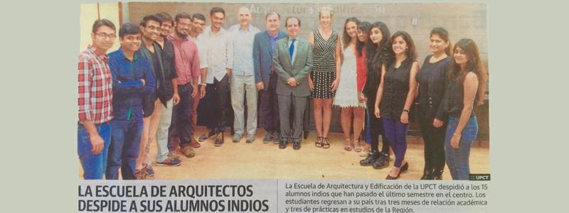 HUMA realiza convenio con la POLITECNICA de Cartagena.