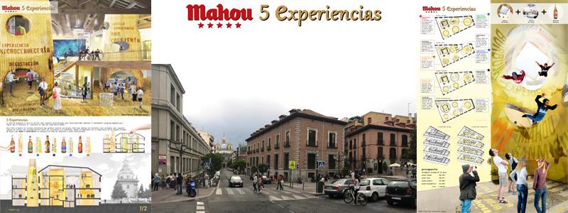 CONCURSO MAHOU 5 EXPERIENCIAS