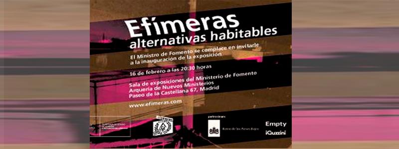 EXPOSICION ARCOS NUEVOS MINISTERIOS MADRID