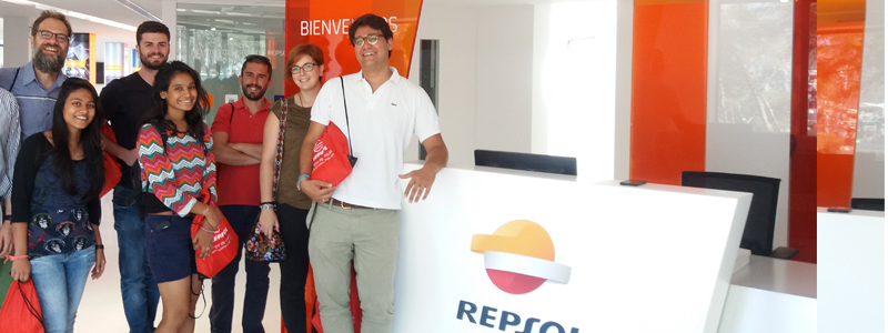 HUMA AND THE CENTER OF VISITS OF REPSOL